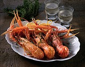 Akaza Shrimp Grilled With Herb