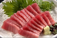 Fresh Slices Of Tuna