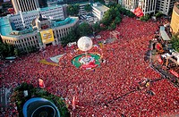 Red Devils,2002 World Cup,Cityhall,Seoul,Korea