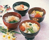 Rice-Cakes-In-Vegetable-Soup Various Kinds