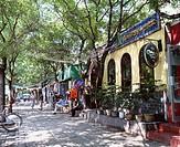 Sanlitun, Cafe bar City View, Beijing, China