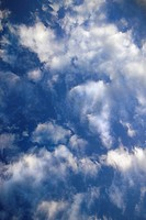 Blue sky and clouds over Maui, Hawaii, USA (thumbnail)