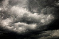 Ominous abstract storm clouds