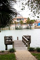 Dock for the channel at Belleair