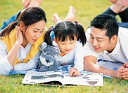 Family Reading Book,Korean