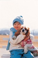 A Boy With A Puppy,Korean