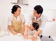 Family in the Kitchen, Korea
