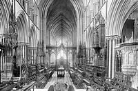 Worcester, the Cathedral Quire 1891