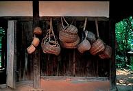 Bamboo Baskets,Cheongpung Cutural Assets Site,Chungbuk,Korea