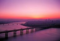 Hangang River,Seoul,Korea
