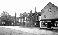 Stanford Bridge, Hotel, Post Office and Stores c1955