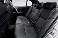 2006 BMW M5 in Silver - Rear seats