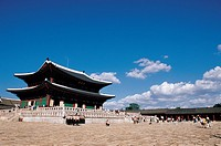 Geunjeongjeon Hall,Gyeongbokgung Palace,Jongno-gu,Seoul,Korea