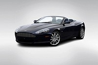 2006 Aston Martin DB9 Volante in Blue - Front angle view