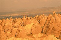 The Rock Sites of Cappadocia, Turkey, High Angle View