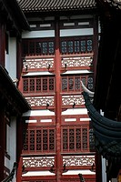 Traditional Ming Dynasty Red Windows