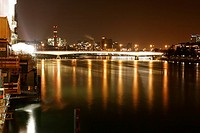 Night Scene of Johanniter Bridge
