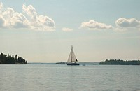 Sailboat on the Lake
