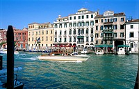 Canal and Buildings, Venice