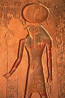 Wall relief inside a tomb, Egypt, Close Up