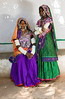 Traditional tribal women in India