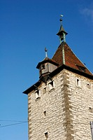 City Old Tower, Schaffhausen, Switzerland