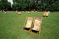UK, England, Europe, London, St.James Park, St.James Park, Deck Chairs, Park, London Parks, United Kingdom, Great Brit