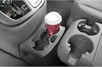 2007 Hyundai Entourage Limited in White - Cup Holder with Prop