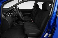 2008 Nissan Versa 1 8 S in Blue - Front seats