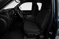 2008 GMC Sierra 1500 SLE in Gray - Front seats