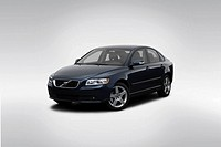 2008 Volvo S40 2 4I in Blue - Front angle view