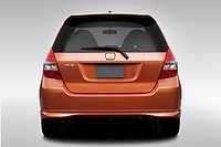 2008 Honda Fit Sport in Orange - Low/Wide Rear