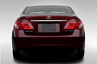 2008 Lexus ES ES350 in Red - Low/Wide Rear