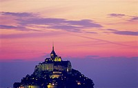 Mont St. Michel. Manche, Normandy, France