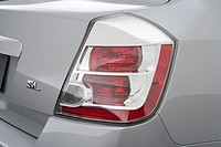 2008 Nissan Sentra 2 0SL in Silver - Tail light