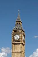 UK, London, Big Ben clock tower