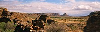 USA, New Mexico, Chaco Culture National Historic Park, Fajada Butte
