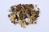 Cablin Patchouli Herb, Pogostemonis Herba, cut out, object