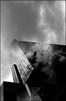 Nationale Nederlanden Building, Rotterdam, Netherlands, 2007.Photograph by Richard Bosomworth.