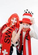 Austrian and Swiss soccer fans, EURO 2008