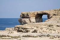 Arch in a cliff gozo malta