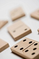 Close_up of dominos