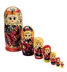 World symbols: Russian doll