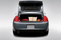 2008 Chevrolet Malibu 1LT in Gray - Trunk Props