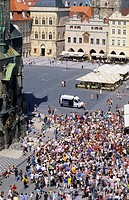 90900069, Czech Republic, Prague, Old Town Square,