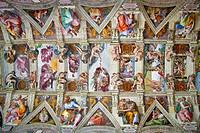 Michelangelo´s Sistine Chapel, Rome, Italy
