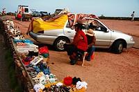 Free market, Punta del Este, Uruguay.