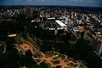 Aerial view, Macaquinhos Park, Caxias do Sul, Rio Grande do Sul, Brazil