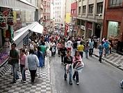 City, downtown, São Paulo, Brazil