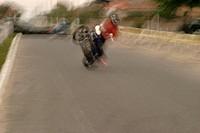 Acrobatics with motorcycle, Encounter Of Motorcyclists, Imbituba, Santa Catarina, Brazil